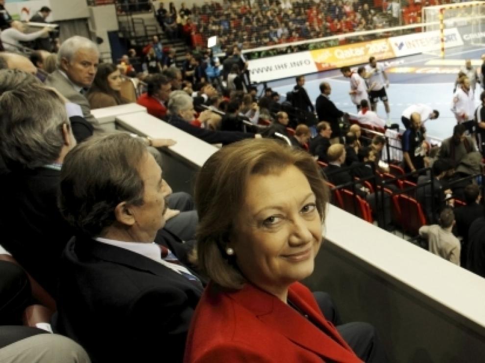 La Presidenta de Aragón, Luisa Fernanda Rudi, ha sido testigo del logro.