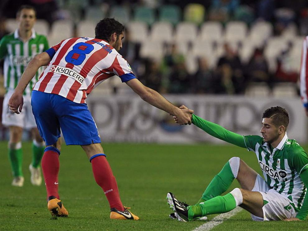 Los andaluces no metieron miedo al equipo de Simeone