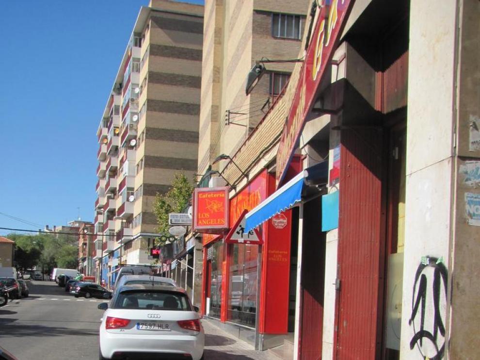 Una imagen de la calle de Oviedo, situada en el barrio zaragozano de La Paz.