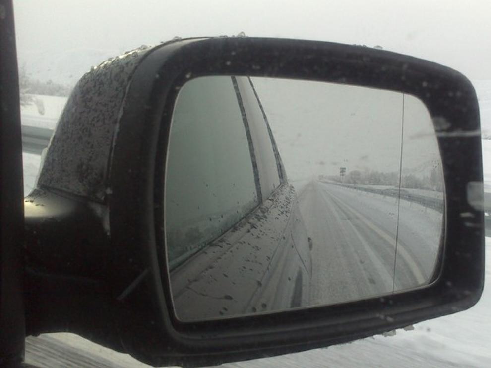 Lamentable estado de la Autovía Jaca-Sabiñanigo