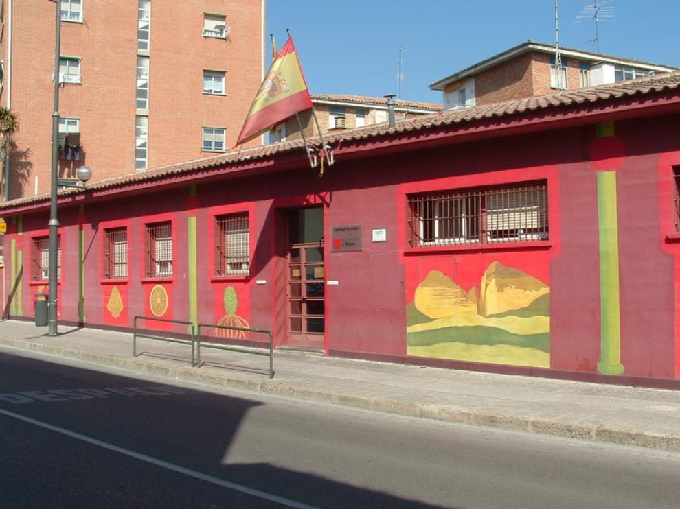 Albergue municipal de Huesca