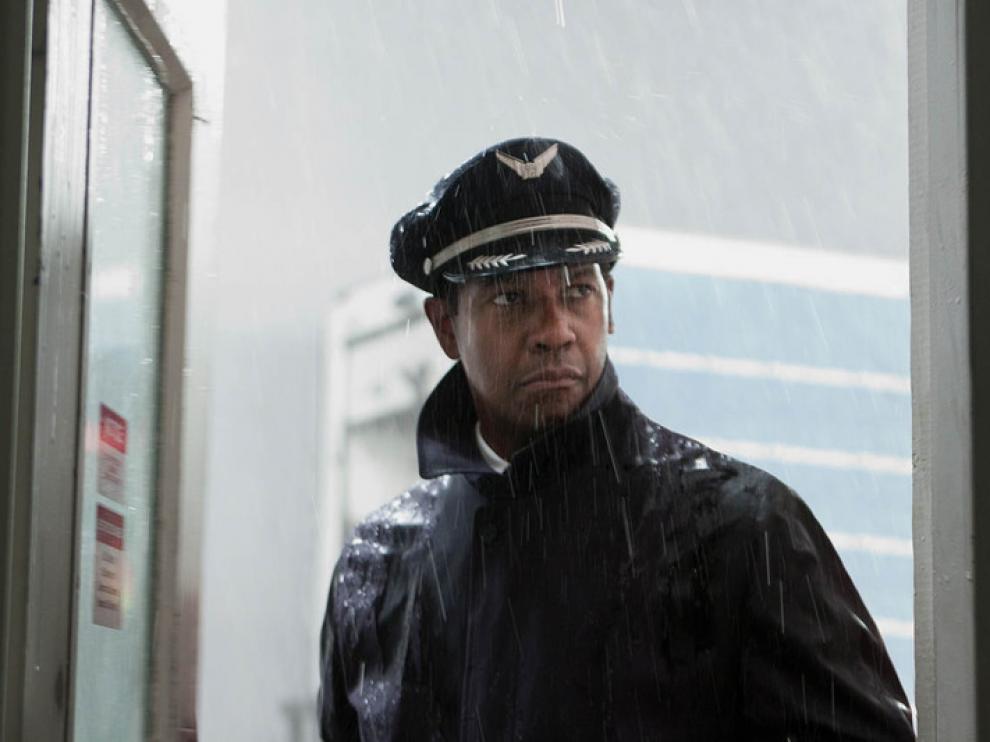 Denzel Washington protagoniza el drama 'El vuelo'