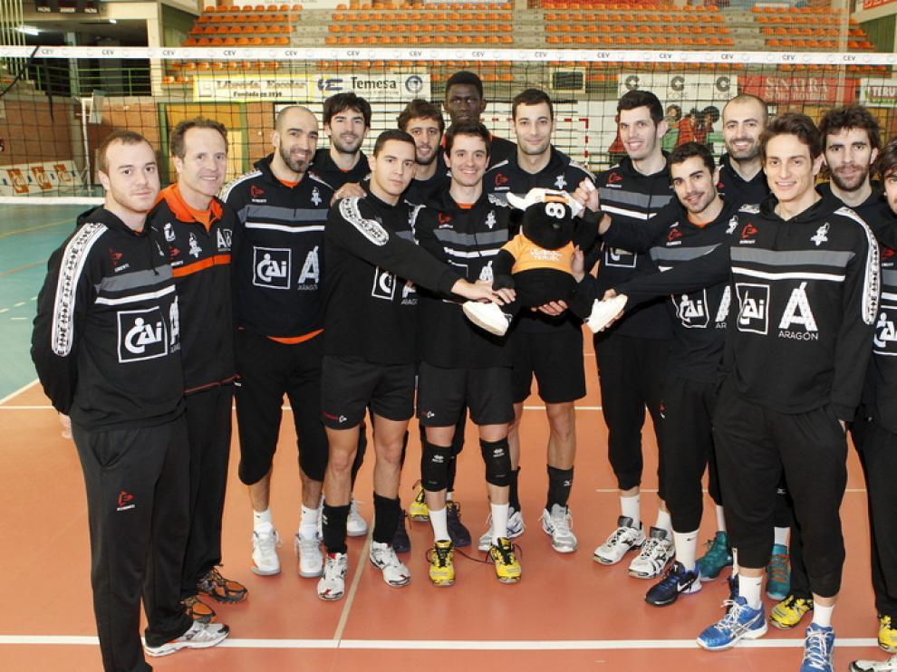 CAI Voleibol Teruel luchará en Ibiza por renovar su título