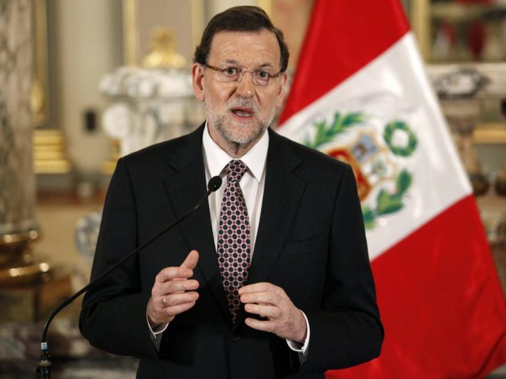 Mariano Rajoy ha anunciado la medida durante su visita a Lima.