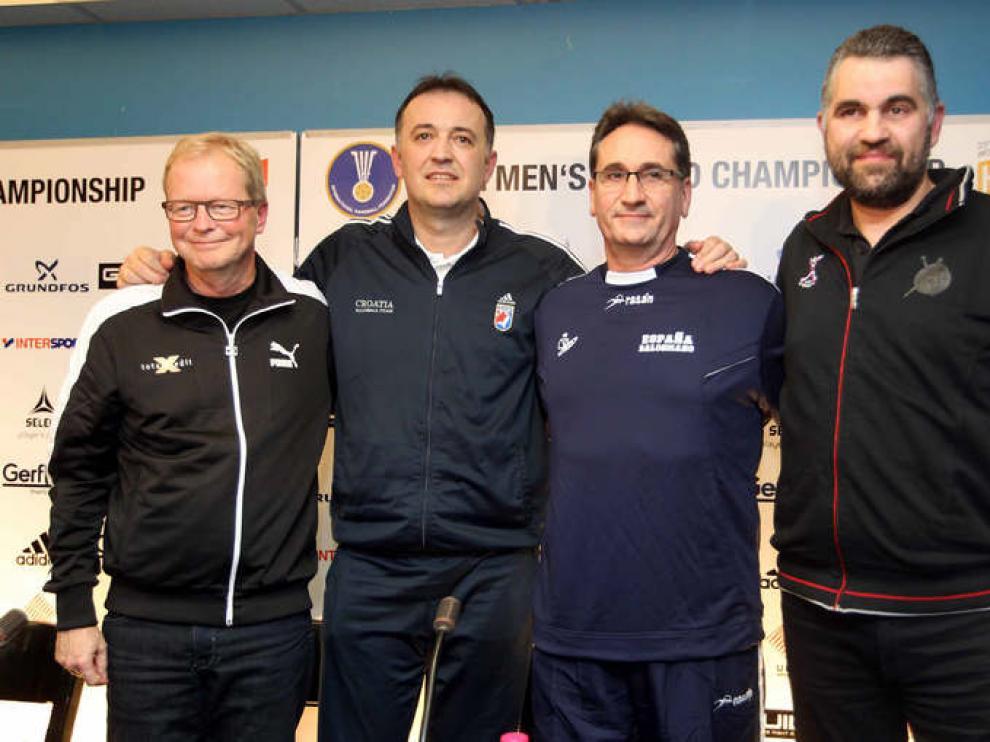 Los técnicos de las selecciones semifinalistas han dado este jueves una rueda de prensa