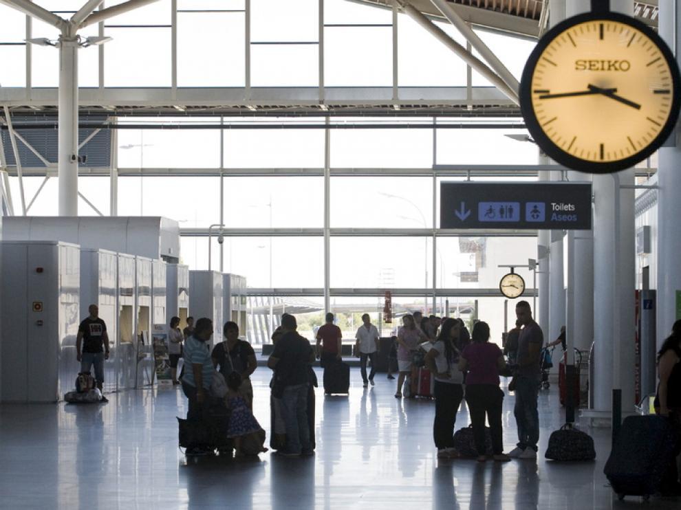 Imagen del aeropuerto de Zaragoza