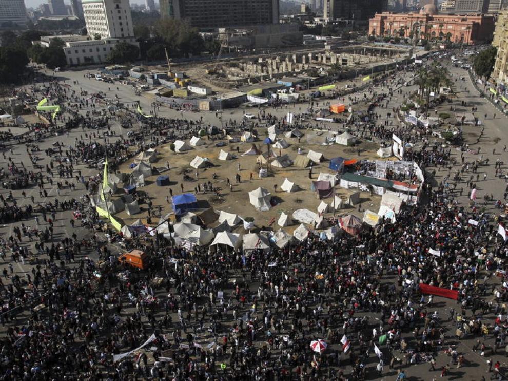 Nuevas manifestaciones en Egipto