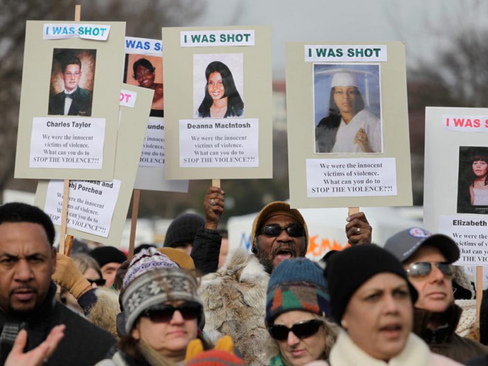 Miles de personas se manifiestan para pedir más control de armas