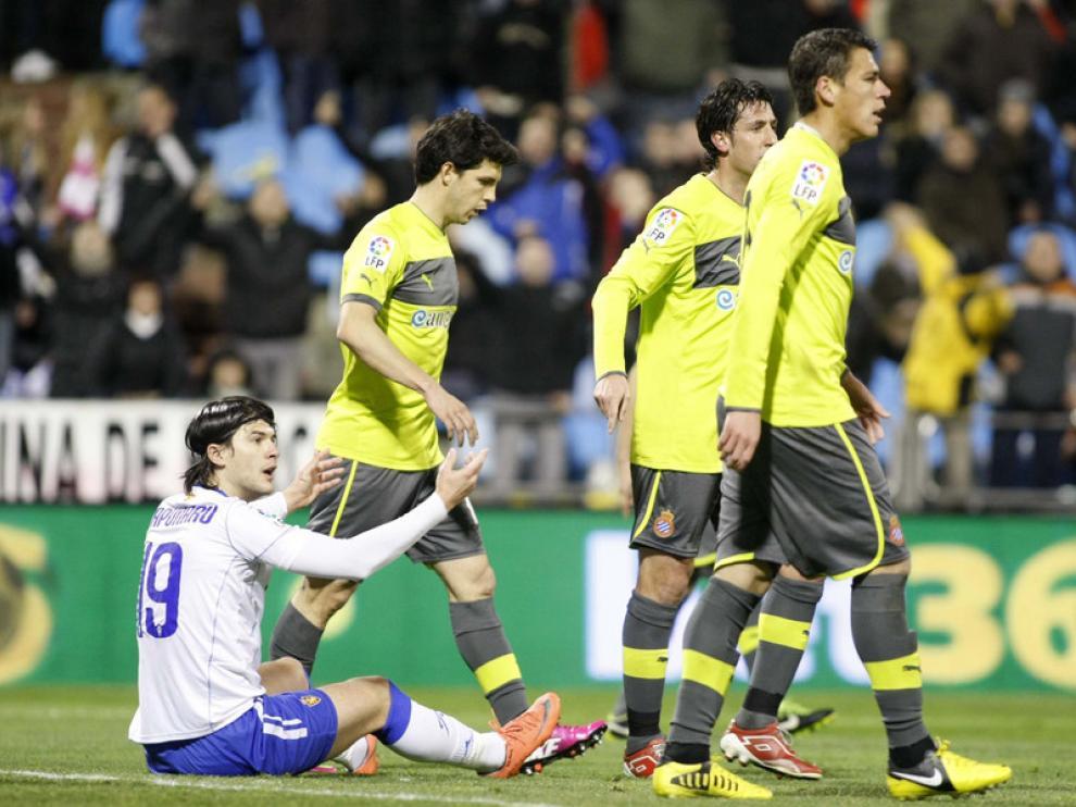 Imagen del partido Real Zaragoza-Espanyol