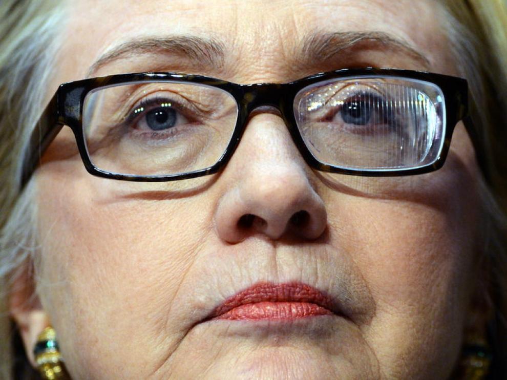Gafas que usa Hillary Clinton