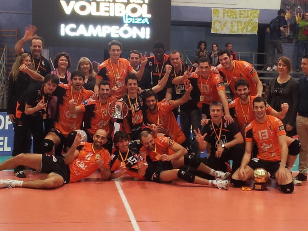 El CAI Teruel, campeón de la Copa del Rey