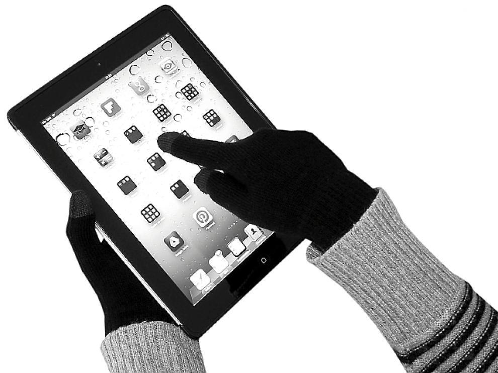 Guantes para móviles y 'tablets'