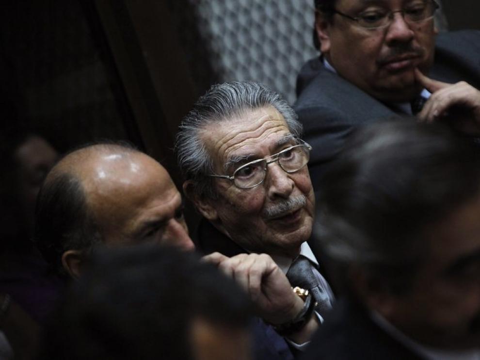 La Justicia de Guatemala ordena enjuiciar a Ríos Montt por genocidio