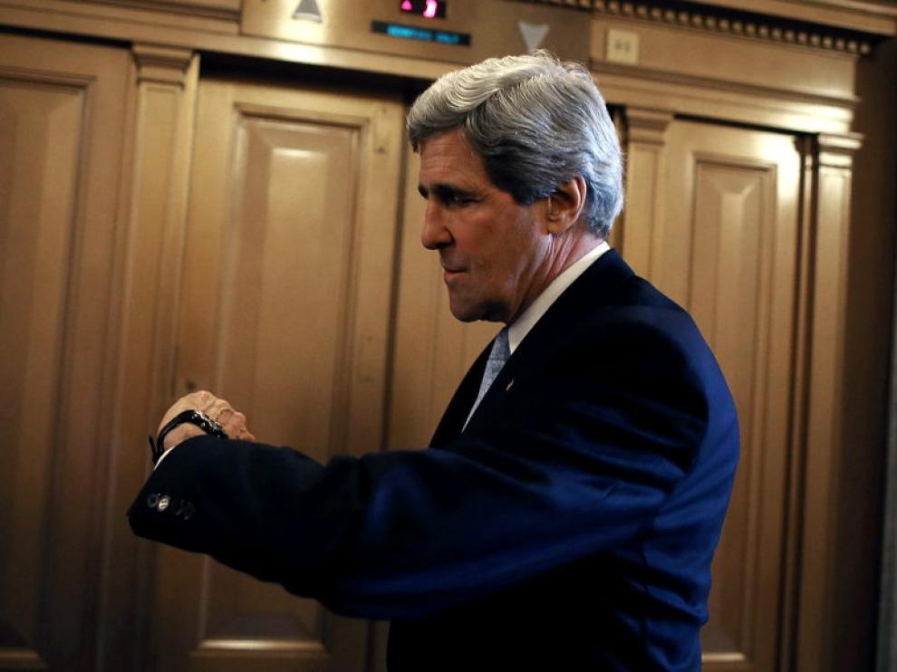 Kerry, tras la votación