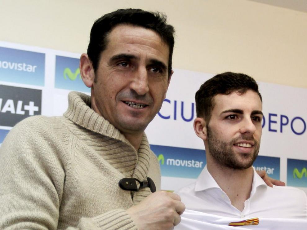 El  delantero del Real Zaragoza, Rodrigo Ríos, 'Rodri'