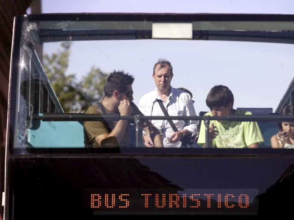 El autobús turístico de Zaragoza