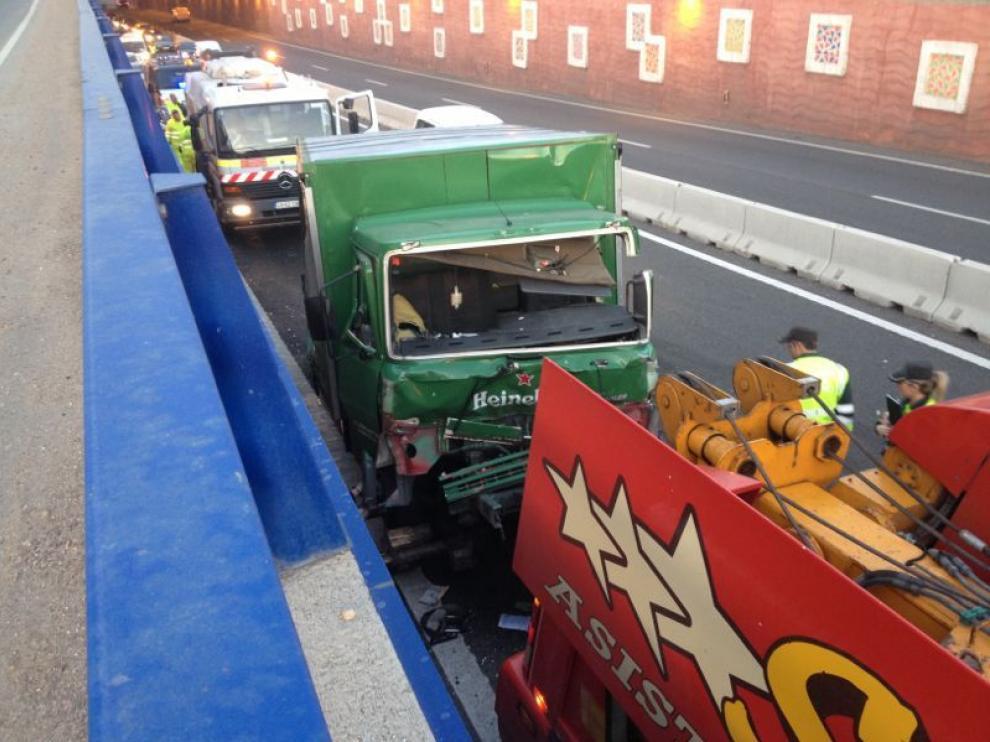 Accidente en Zaragoza