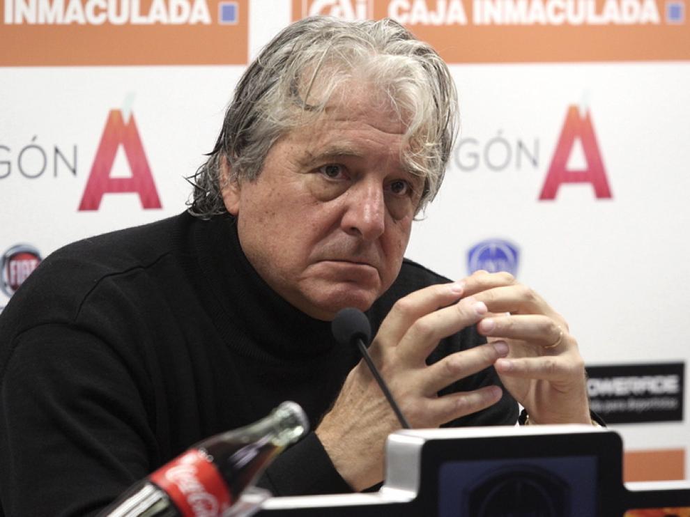 Jorge D'Alessandro, entrenador de la SD Huesca