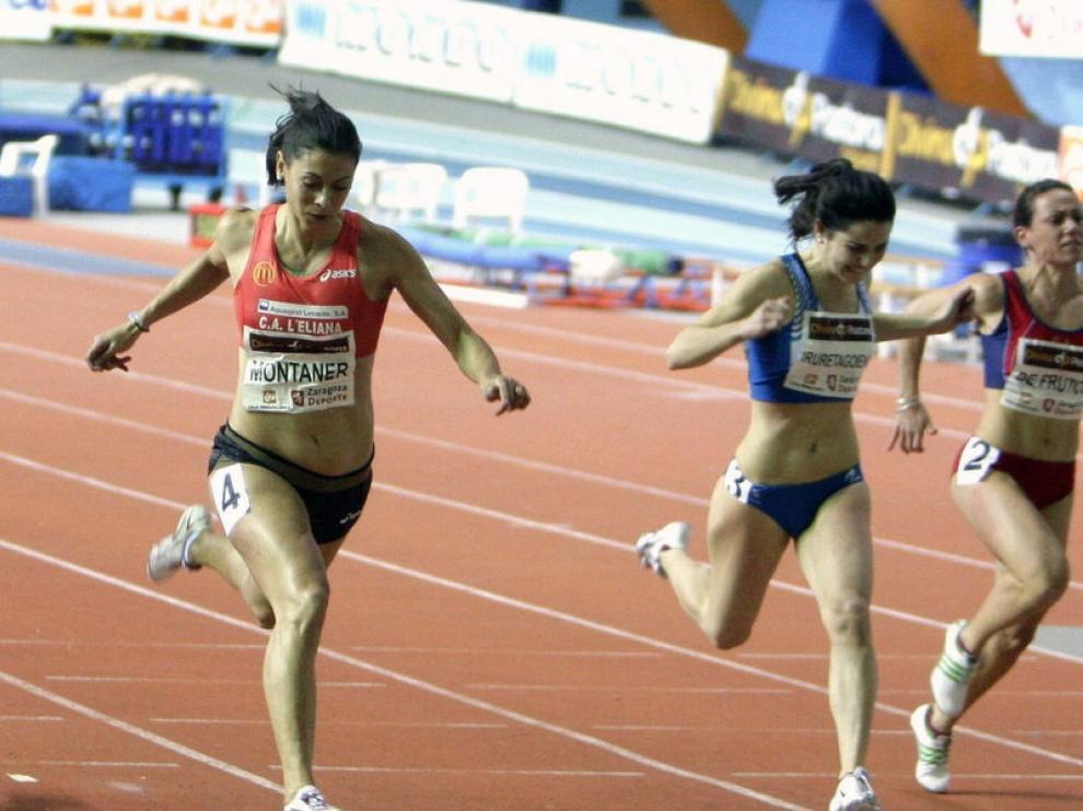 Concha Montaner ya venció en 60 metros el pasado año