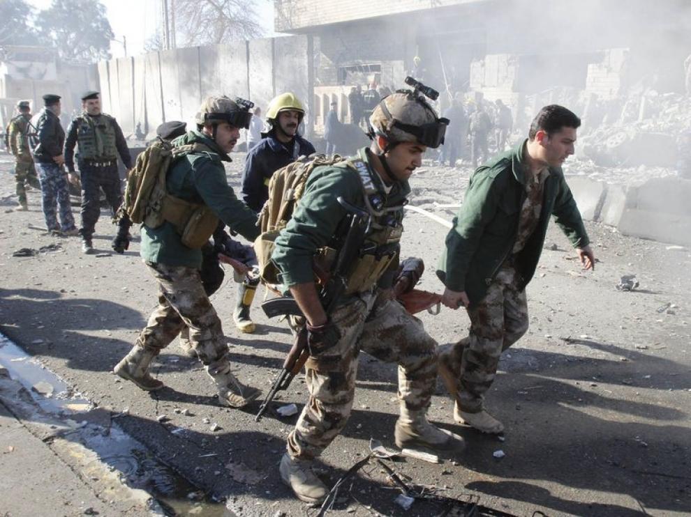 Atentado contra un cuartel en Iraq