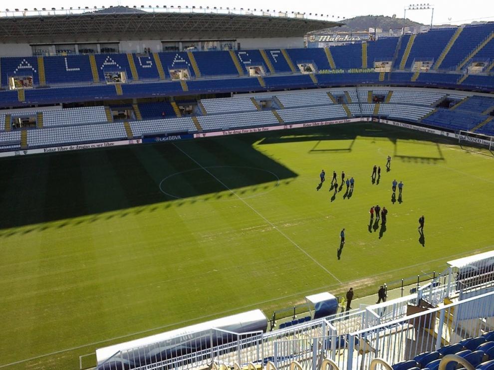 Reconocimiento del campo en Málaga