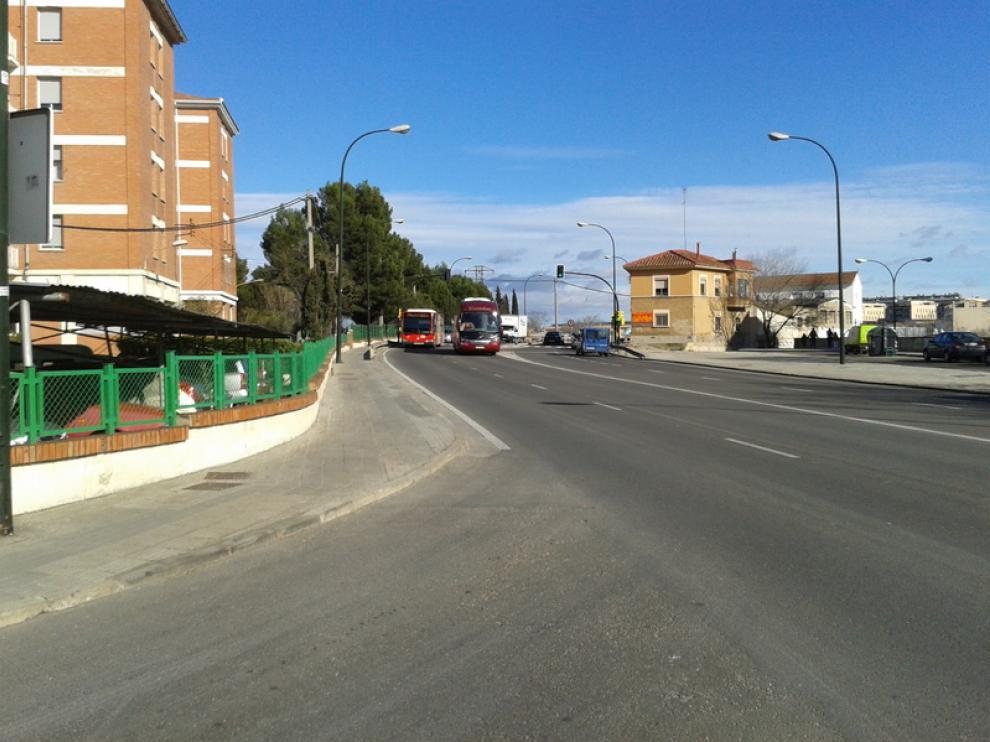 Imagen de la avenida de Cataluña