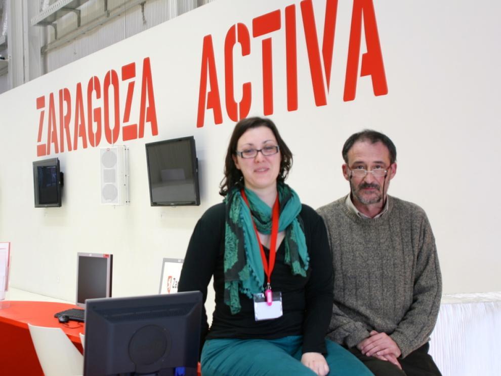 Marian y José Mari han creado un negocio de audioguías
