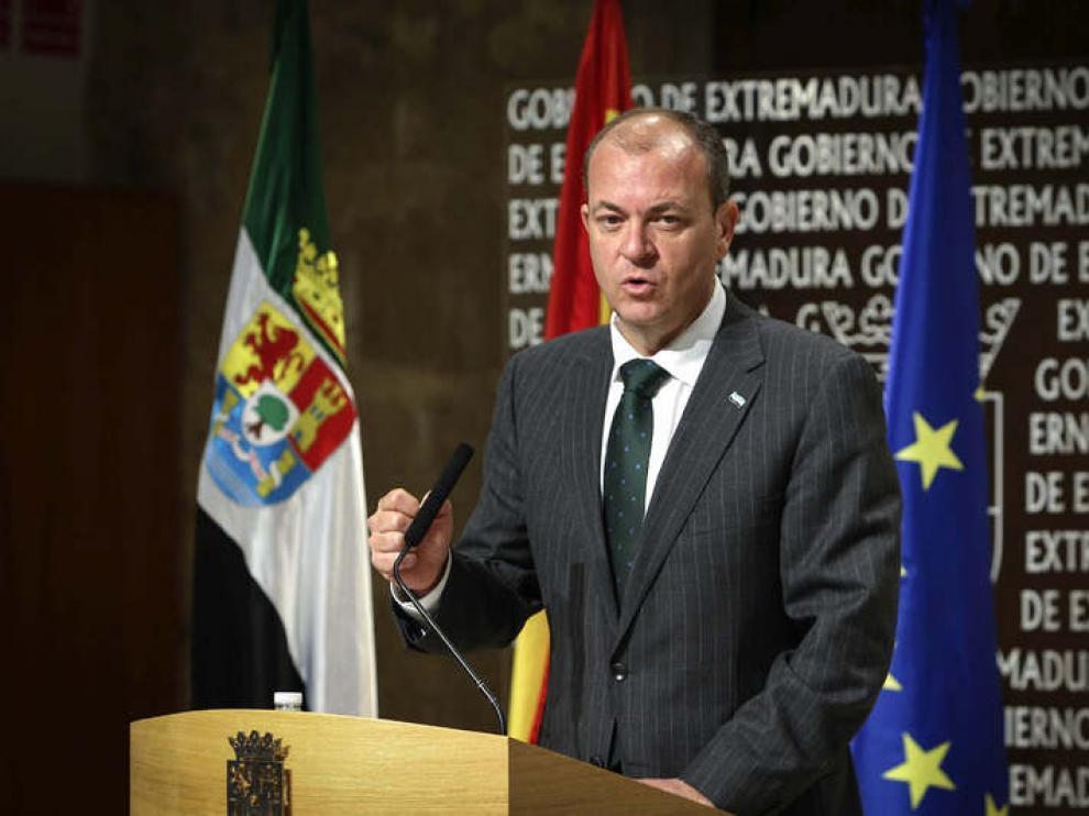 Monago, presidente extremeño