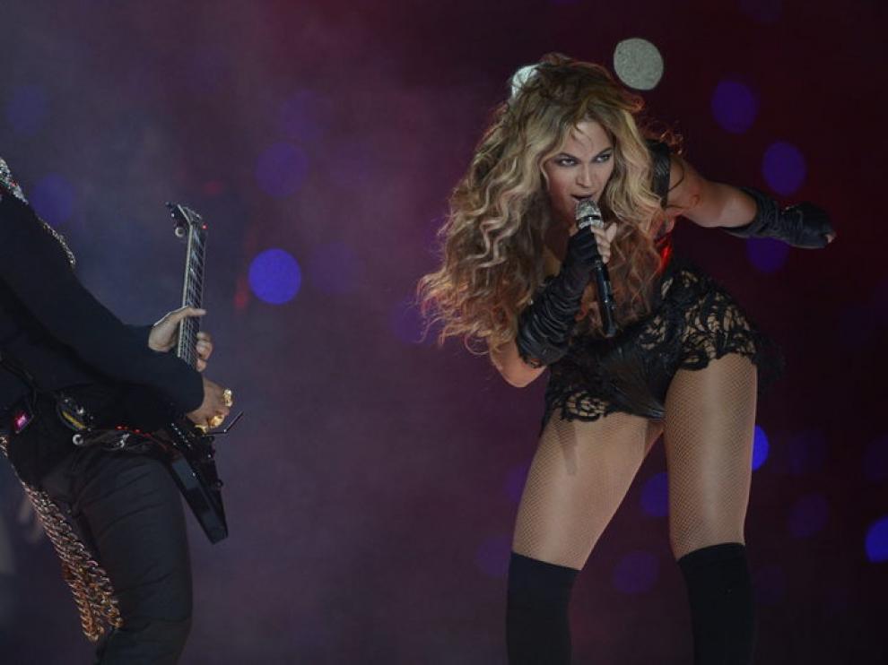 Actuación de Beyoncé