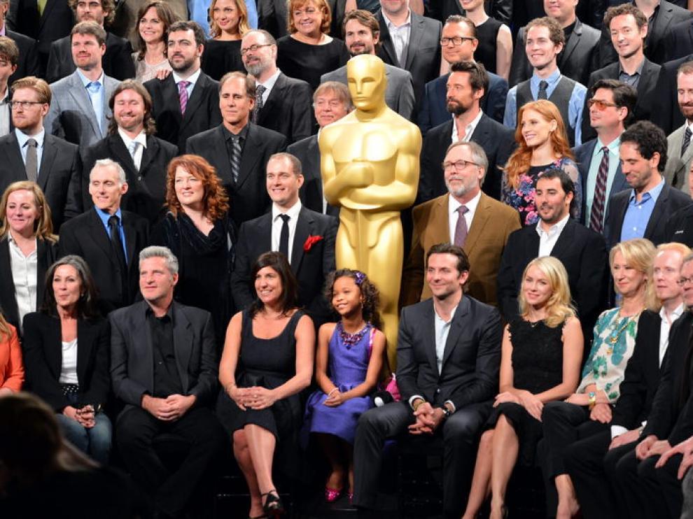 Almuerzo de nominados tres semanas antes de la ceremonia de los Óscar