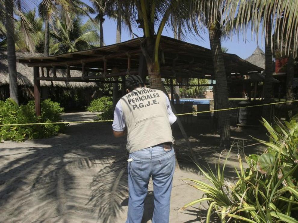 La Policía mexicana investiga lo ocurrido en Acapulco