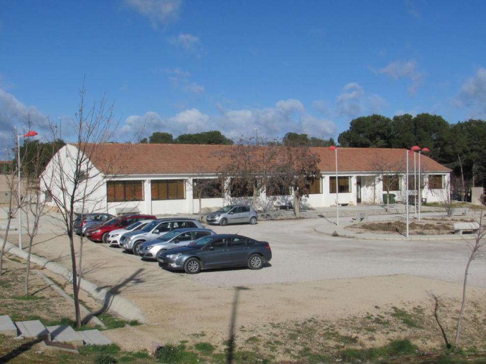 Barracón de Valdespartera que los vecinos quieren convertir en centro cívico