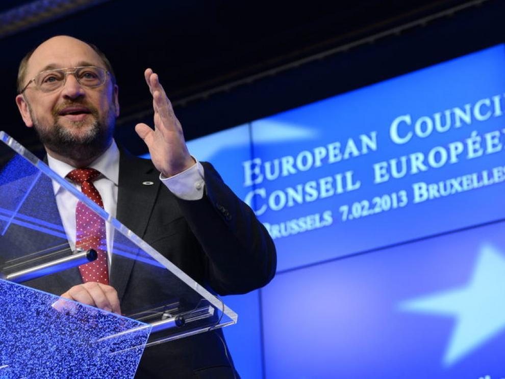 Schulz ha reclamado luchar contra el paro juvenil