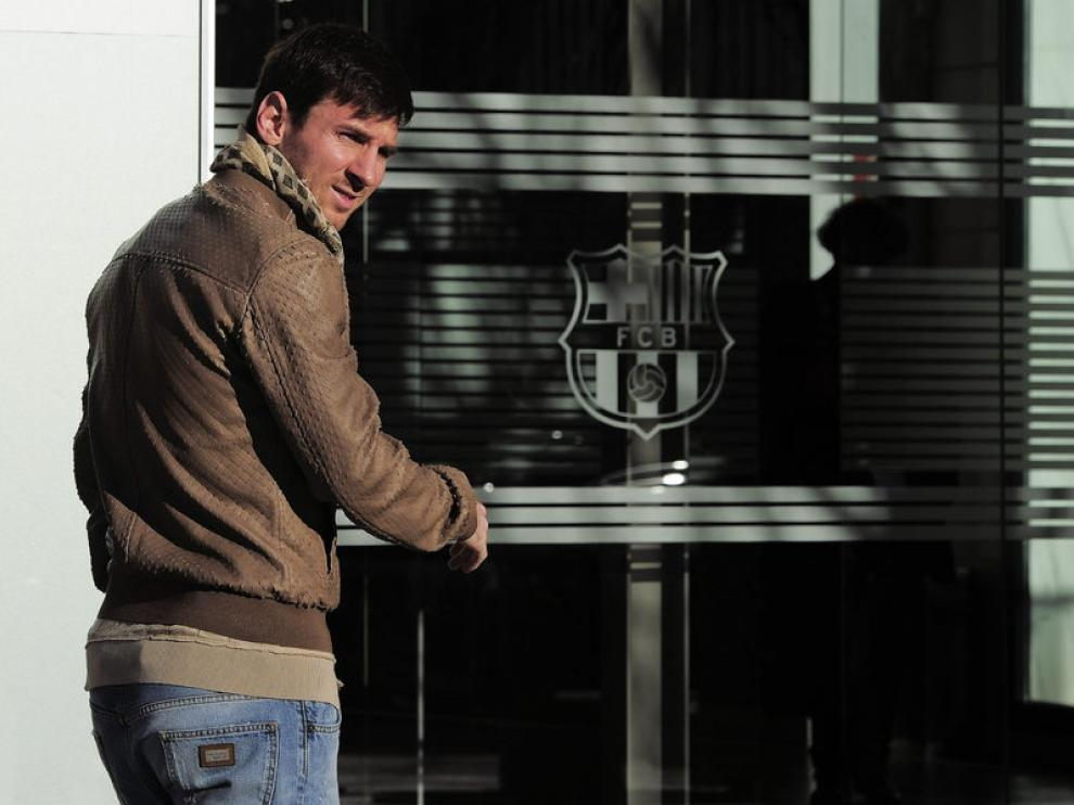 Messi en una imagen de archivo