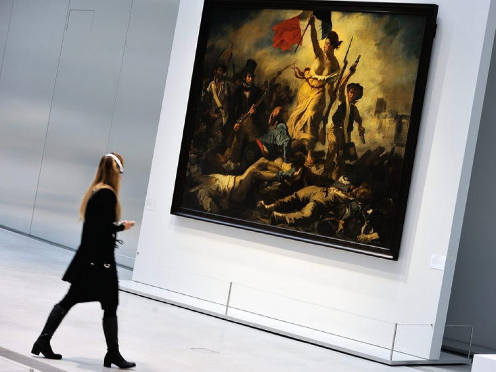 'La libertad guiando al pueblo', de Eugène Delacroix