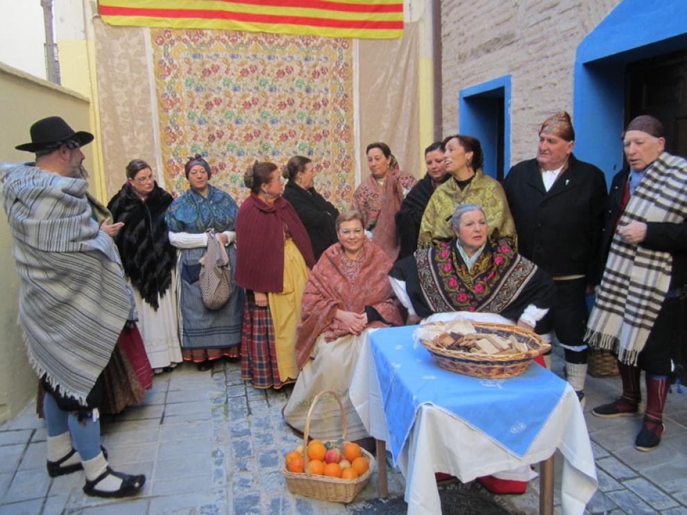 La asociación cultural Mariano Lucas ha protagonizado la recreación histórica