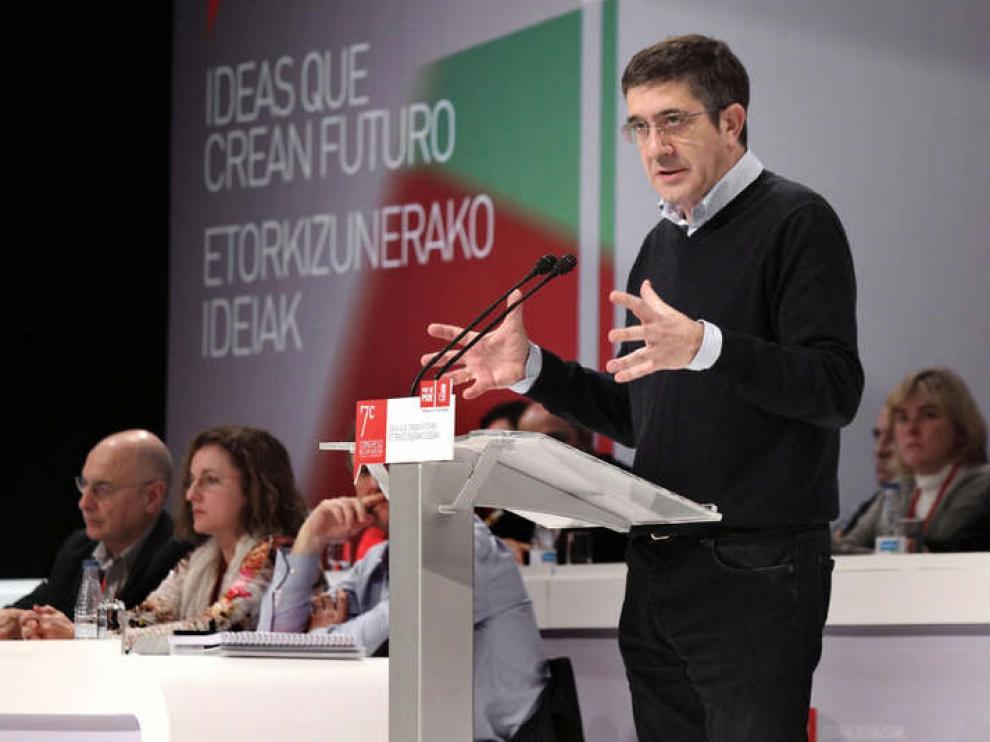 Patxi López reelegido secretario general
