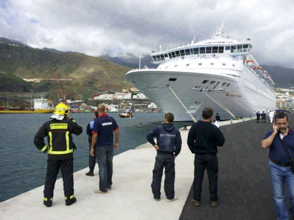 Crucero Thomson Majesty en La Palma