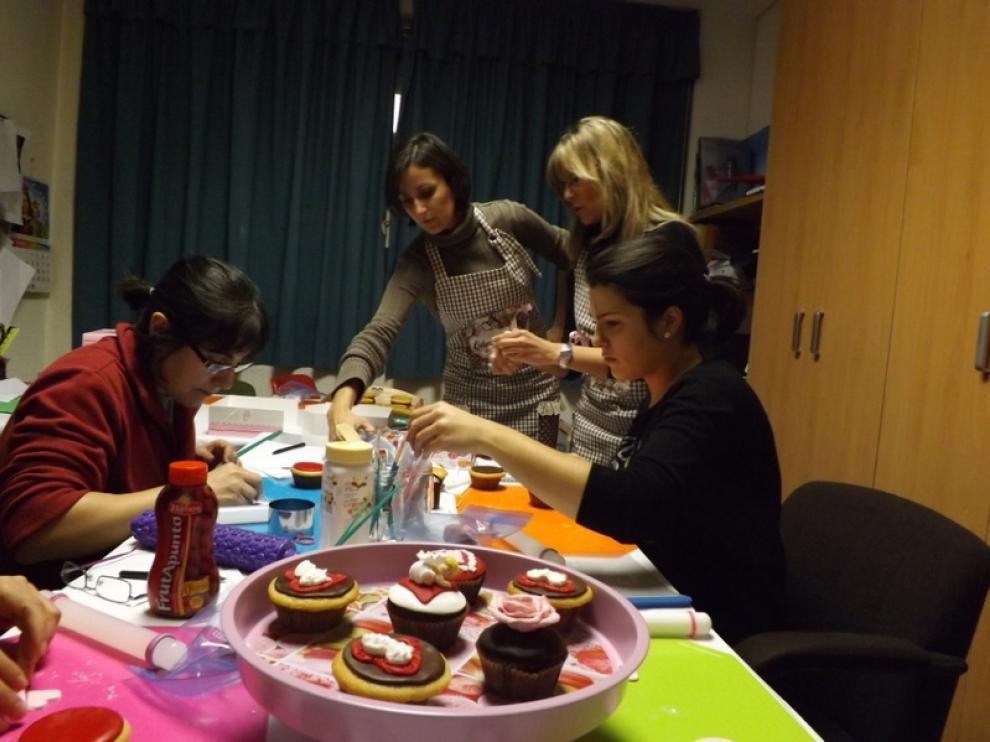 Talleres de Cupcakes por San Valentín