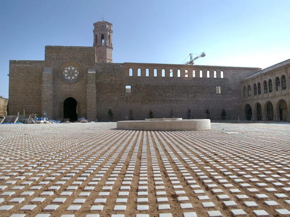 El Monasterio de Rueda cierra temporalmente su hospedería