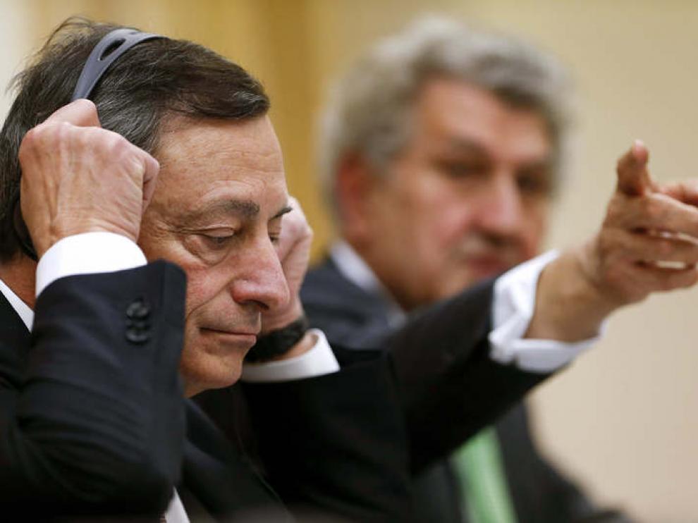 Comparecencia del presidente del BCE, Mario Draghi, en el Congreso de los Diputados