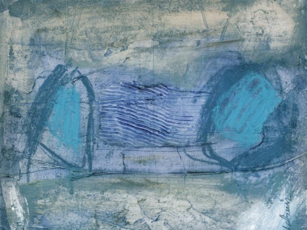 'Los cuarenta bramantes', obra de Elena Cabrerizo.