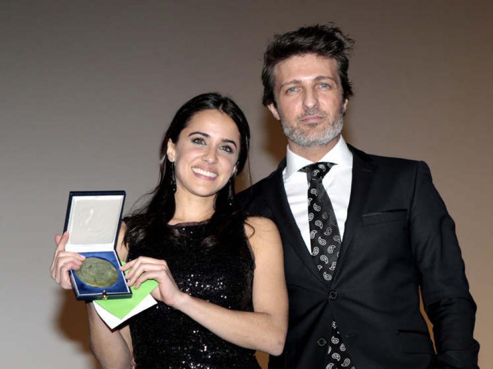 Macarena García recibió el premio de actriz revelación por 'Blancanieves'
