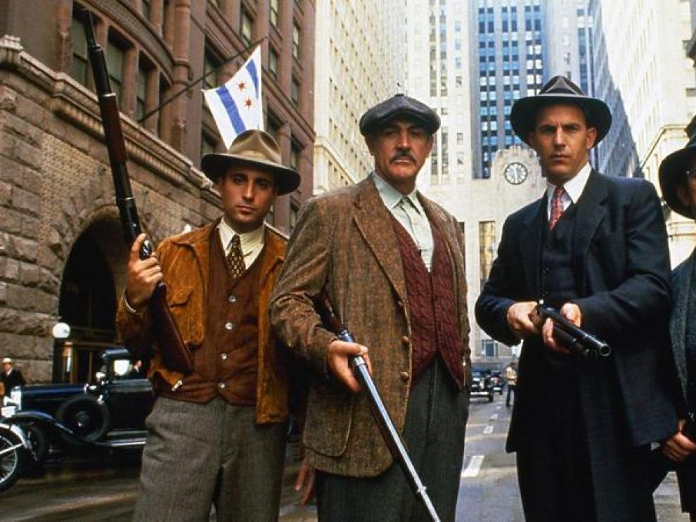 Kevin Costner, Sean Connery, Andy García y Robert De Niro protagonizan la cinta