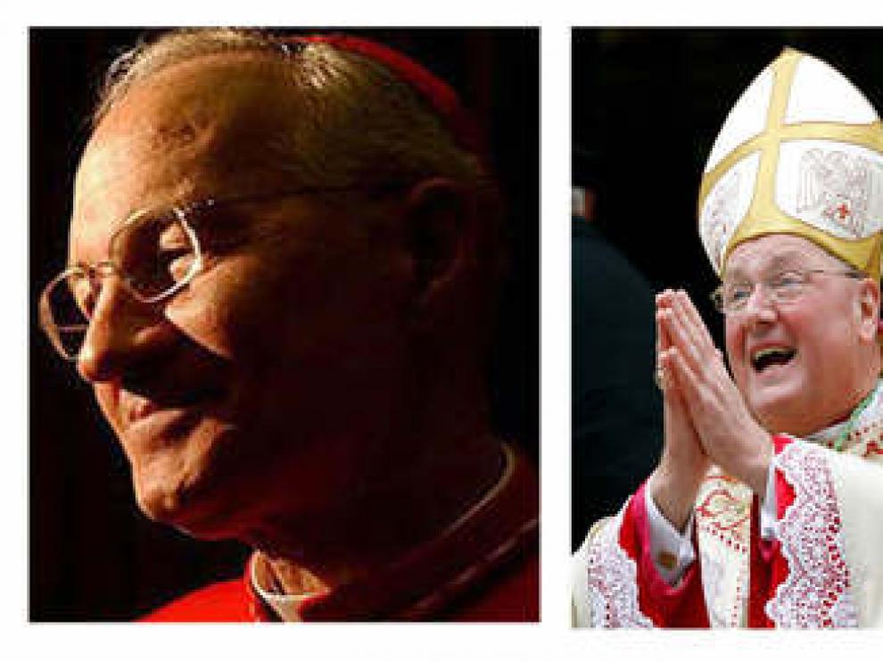 Dos norteamericanos y dos africanos en primera línea para suceder a Ratzinger