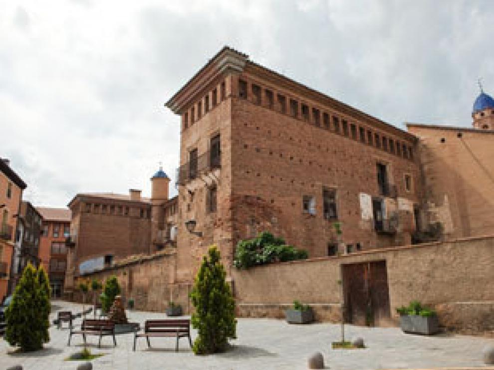 Palacio de los Condes de Argillo, en Morata de Jalón.