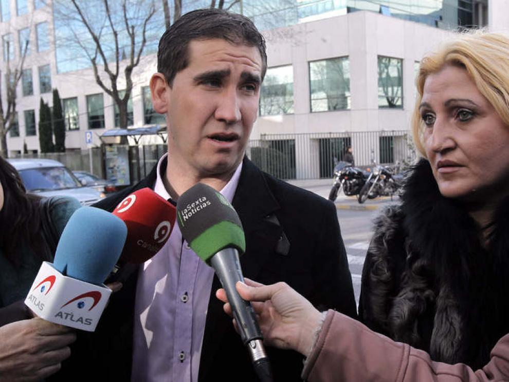 Manzano, a su llegada a declarar en el juicio de la 'Operación Puerto'
