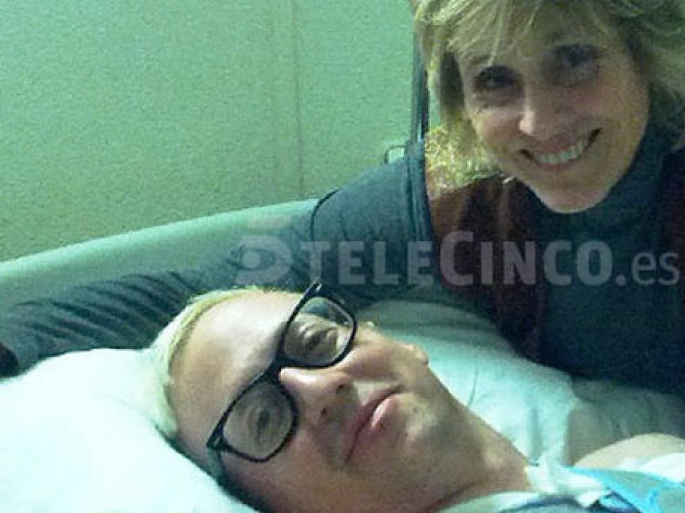 Mercedes Milá acudió al hospital a visitar al accidentado