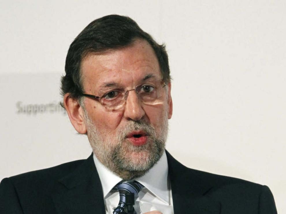 Mariano Rajoy, en una jornada del seminario 'The Economist', este martes.