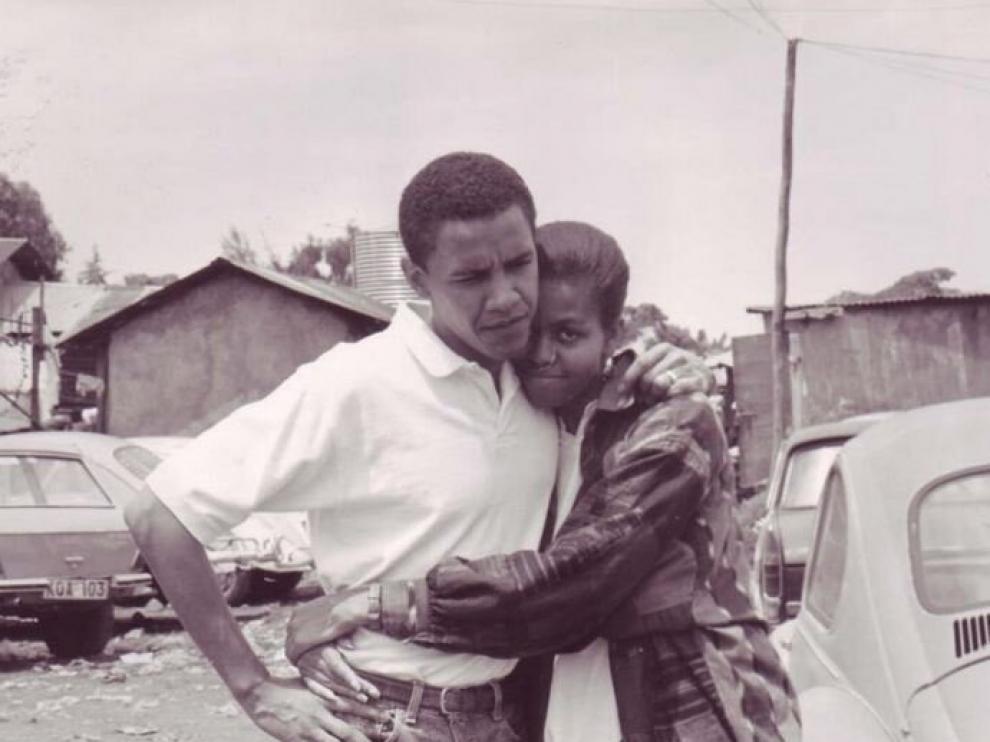 Foto con la que Obama felicitó a su mujer por San Valentín a través de Twitter